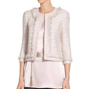 St. John Padmesh Pastel Tweed Knit Jacket K62M001